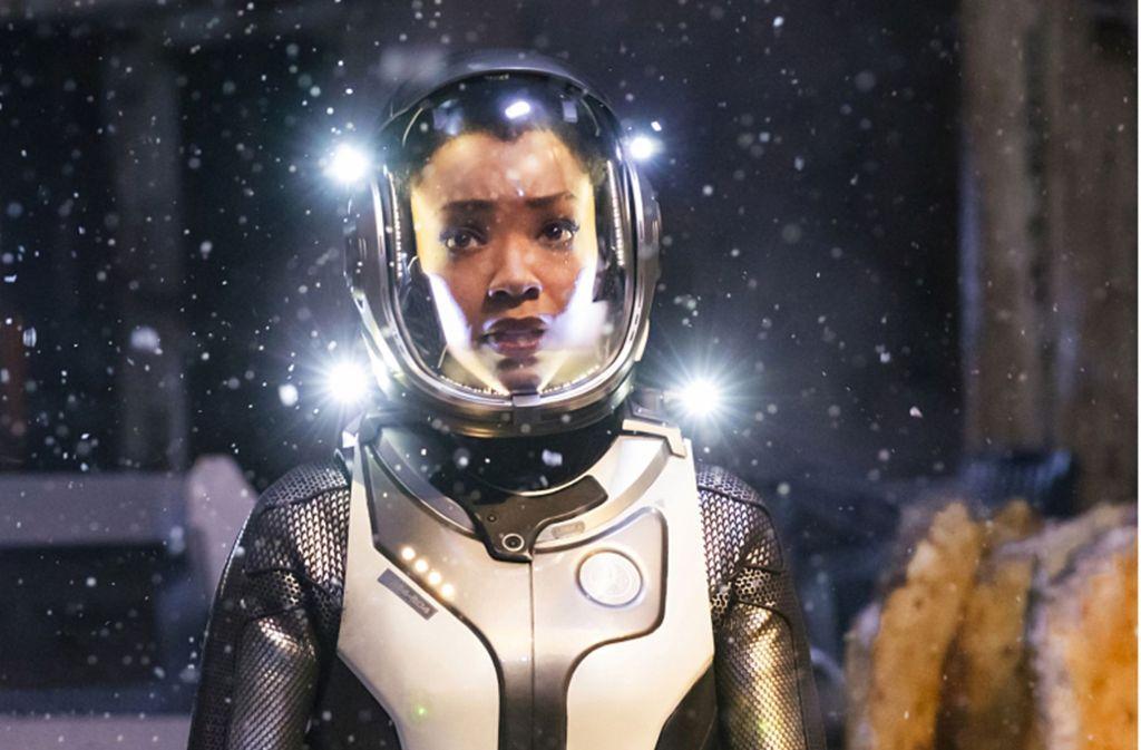 Sonnequa Martin-Green als Weltraum-Offizierin Michael Burnham Foto: Netflix