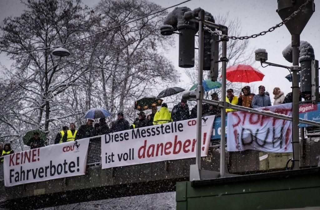 """Für die CDU war die Messstation am Neckartor """"voll daneben"""". Der TÜV hat sie aber bestätigt. Foto: Lichtgut/Achim Zweygarth"""