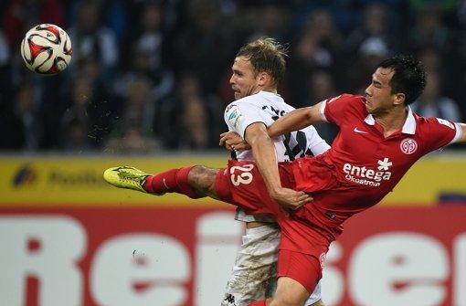 Gladbach spielt 1:1 gegen Mainz
