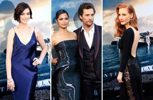 Hathaway und McConaughey Lichtjahre entfernt