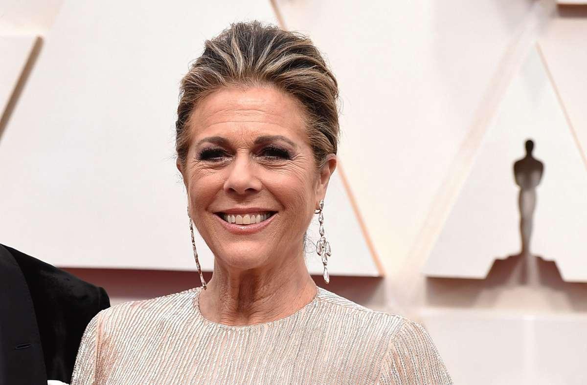Rita Wilson bei der Oscar-Verleihung 2020 Foto: dpa/Jordan Strauss