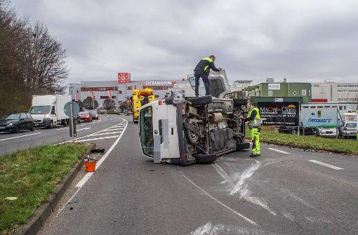 Zu dem Unfall in Filderstadt-Bonlanden kam es am Montagmorgen. Foto: SDMG