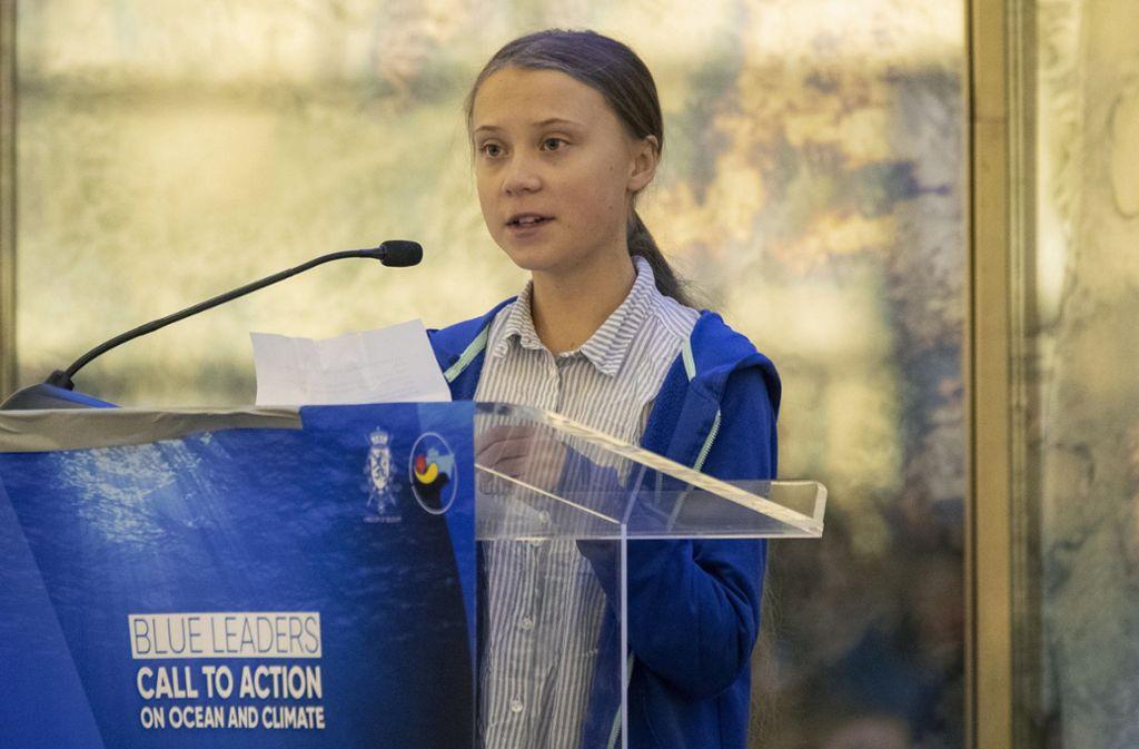 Greta Thunberg setzt sich für Nachhaltigkeit und Umweltschutz ein. (Archivbild) Foto: dpa/Mary Altaffer