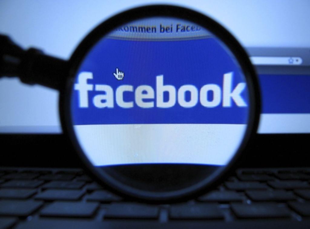 Ein Richter am Amtsgericht Reutlingen will den Facebook-Account eines Angeklagten beschlagnahmen. Foto: dapd