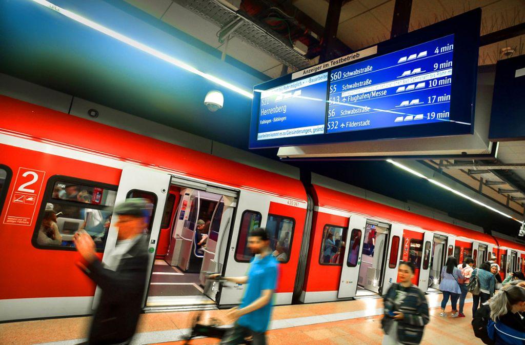 Der Region Verband Stuttgart will neue S-Bahnen anschaffen. Foto: Lichtgut/Max Kovalenko