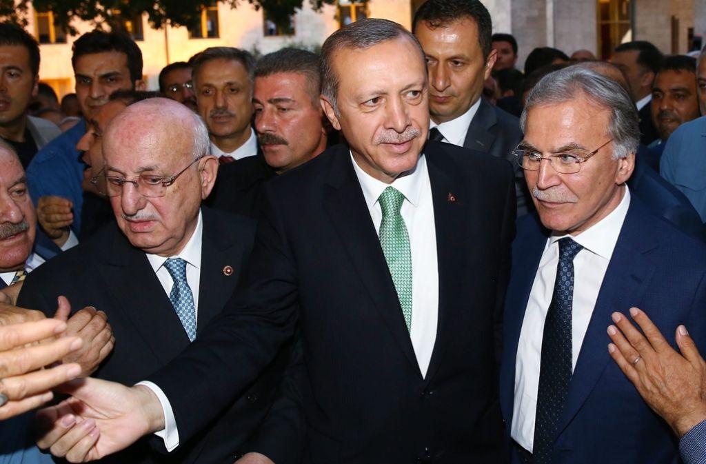 Politiker der Linken in Deutschland fordern ein härteres Vorgehen gegen den türkischen Präsidenten Recep Tayyip Erdogan Foto: dpa