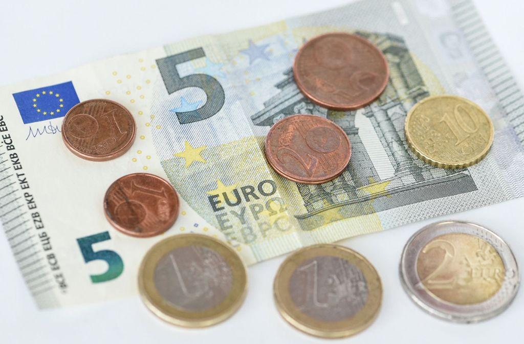 9,19 Euro beträgt der Mindestlohn pro Stunde in Deutschland – davon sind viele Spitzenathleten entfernt. Foto: dpa