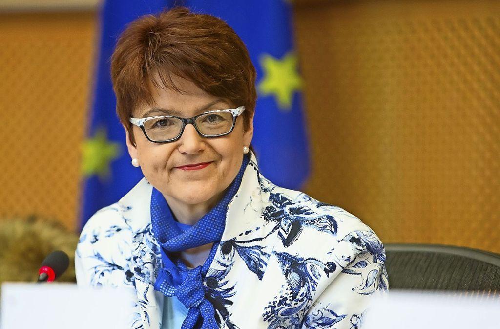 Noch im Europaparlament: die CDU-Politikerin Inge Gräßle Foto: EU