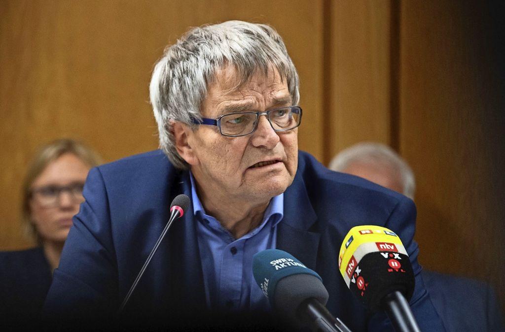 Der parlamentarische Geschäftsführer der Grünen-Fraktion, Uli Sckerl, berichtet von bedrohlichen Anrufen nach dem Datenleck. Foto: dpa