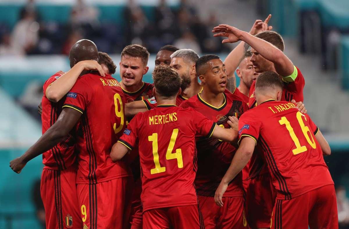Belgien setzte sich klar gegen Russland durch. Foto: dpa/Igor Russak