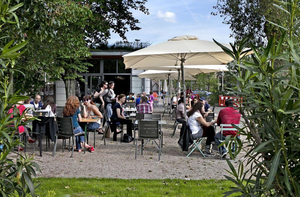 Die Esslinger Gastronomen haben jede Menge Plätze für Freiluftgenießer. Foto: Horst Rudel