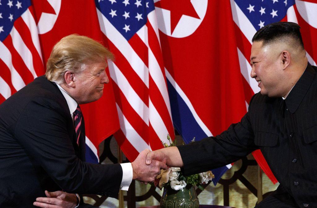 Wenige Tage vor dem Treffen des US-Präsidenten Donald Trump mit dem nordkoreanischen Machthaber Kim Jong-Un gab es einen myteriösen Überfall auf die nordkoreanische Botschaft in Madrid. Foto: AP