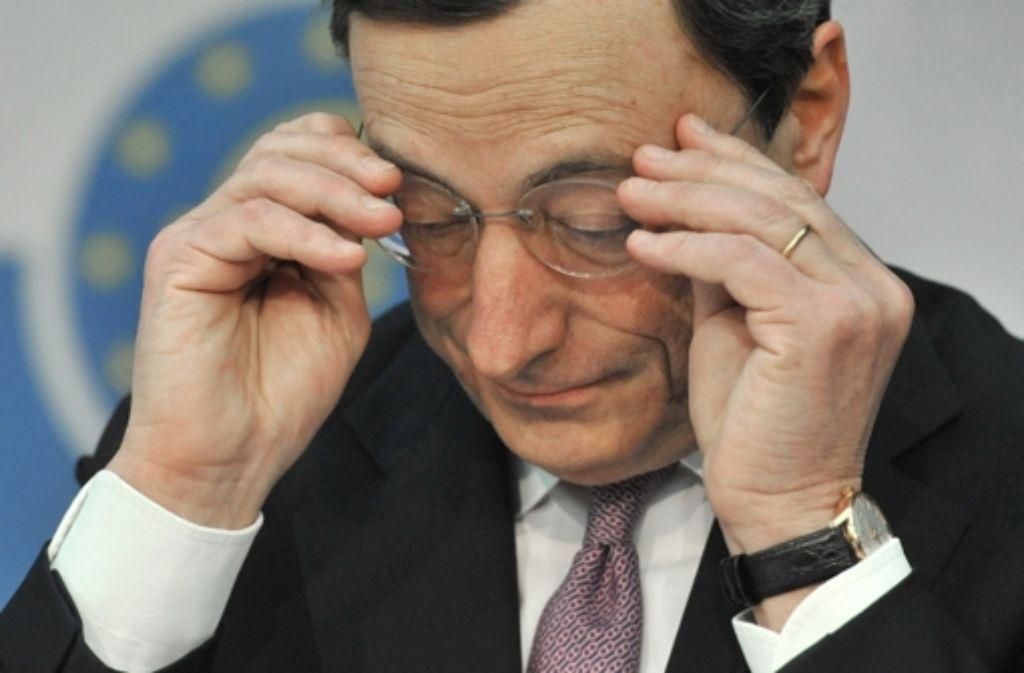 Der EuGH hat EZB-Chef  Mario Draghi grünes Licht für wichtige Elemente seines Euro-Rettungskurses gegeben. Foto: dpa