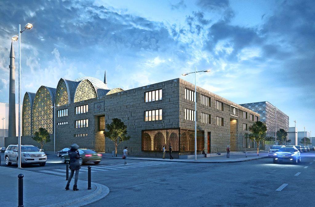 Auf dem Grundstück an der Mauserstraße  möchte der Stuttgarter Ditib-Verein eine neue Moschee  für seine Gemeinde errichten. Foto: SL Rasch