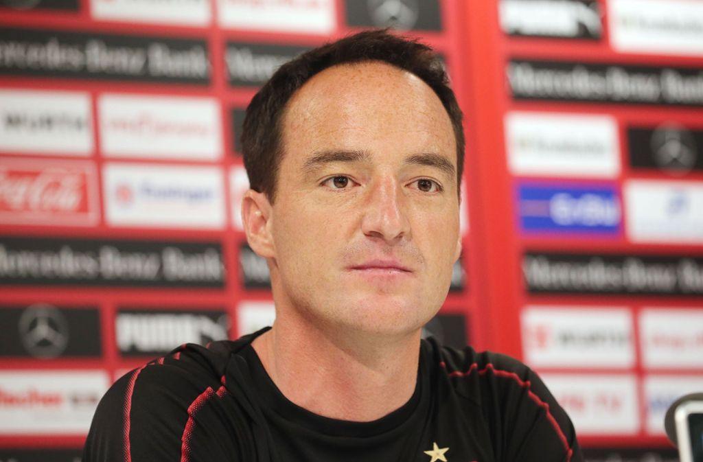 """VfB-Coach Nico Willig: """"Es ist für mich eine Ehre."""" Foto: Baumann"""