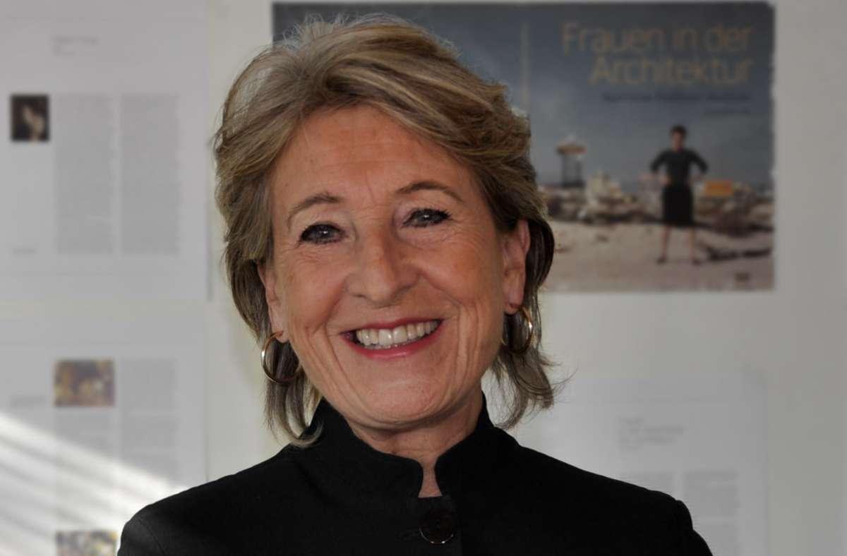 """""""Noch vielen Architektinnen gebührt mehr Anerkennung und Sichtbarkeit"""": Ursula Schwitalla Foto: Vera Reschke/Vera Reschke"""