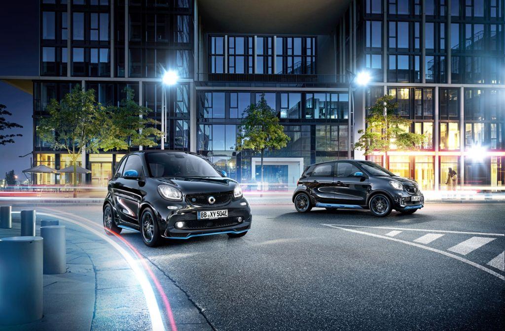 Elektrisch und urban: So präsentiert sich der neue Smart. Foto: MediaPortal Daimler AG