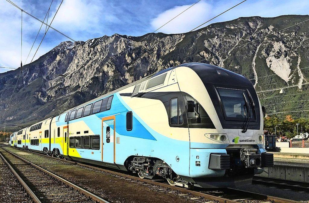 Gegenwärtig fahren die Doppelstockzüge noch in den österreichischen Alpen, bald könnten sie im Neckartal zum Einsatz kommen. Foto: Westbahn