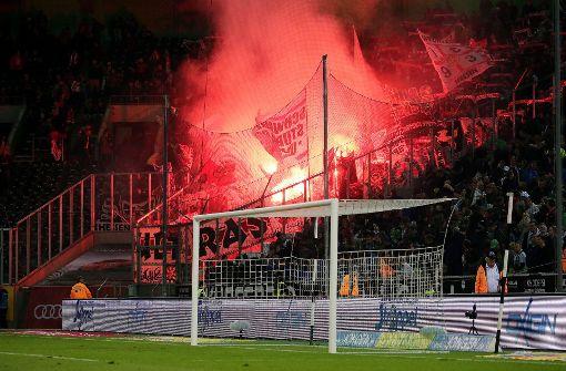 VfB-Fans fallen negativ auf