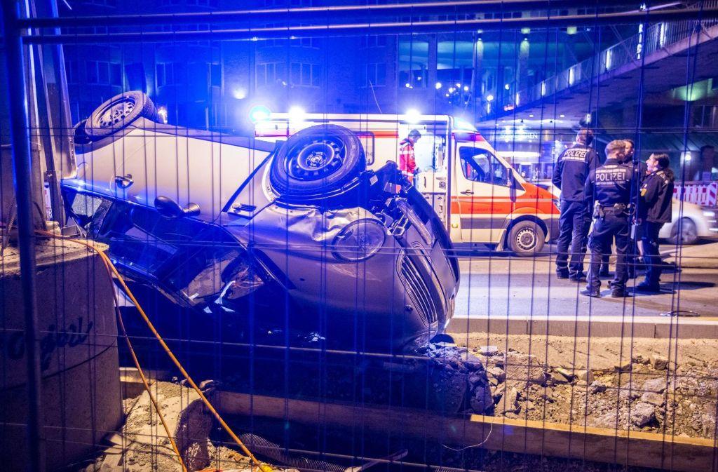 Der verletzte Polizist konnte am Sonntagvormittag das Krankenhaus verlassen. Foto: 7aktuell.de/Simon Adomat