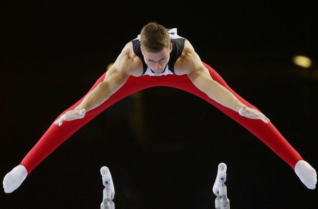 Das war knapp: Das deutsche Team zittert sich zu den Olympischen Spielen. Foto: Pressefoto Baumann/Hansjürgen Britsch