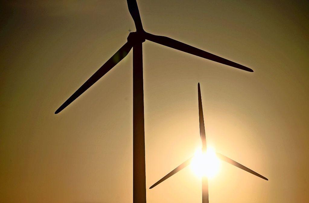 Ein geplanter Windpark unweit von  Wangen bleibt weiter in der Diskussion. Foto: dpa