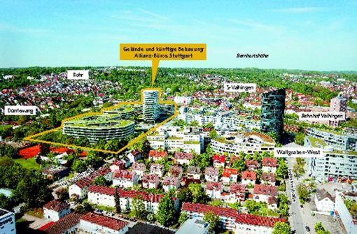 Allianz-Baupläne haben im Rathaus gute Chancen