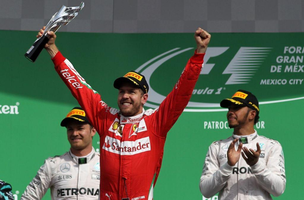 Der viermalige Formel-1-Weltmeister Sebastian Vettel muss nicht mit Konsequenzen wegen seiner Schimpftirade beim Großen Preis von Mexiko rechnen. Foto: dpa