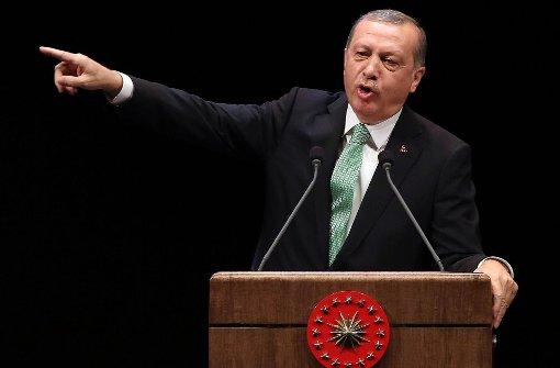 """Erdogan kritisiert Deutschland als """"Gastgeber für den Terrorismus"""""""