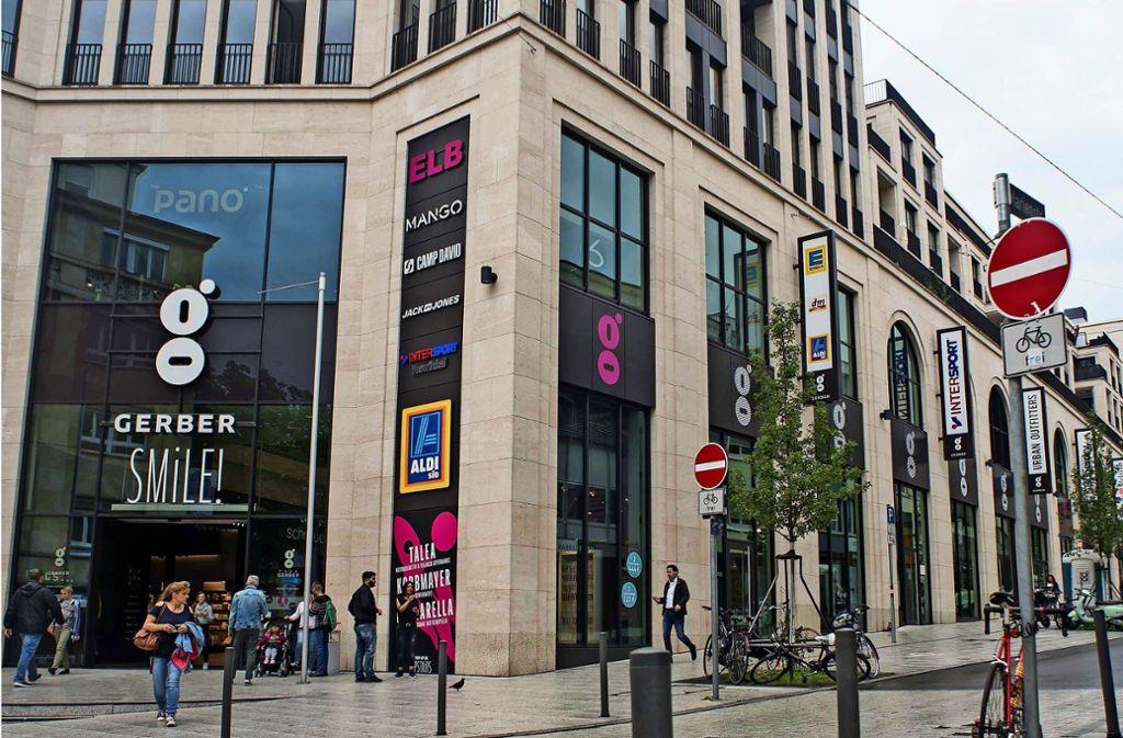 Das Einkaufcenter  Gerber will die Außenbereiche attraktiver gestalten. Foto: Lichtgut/Max Kovalenko