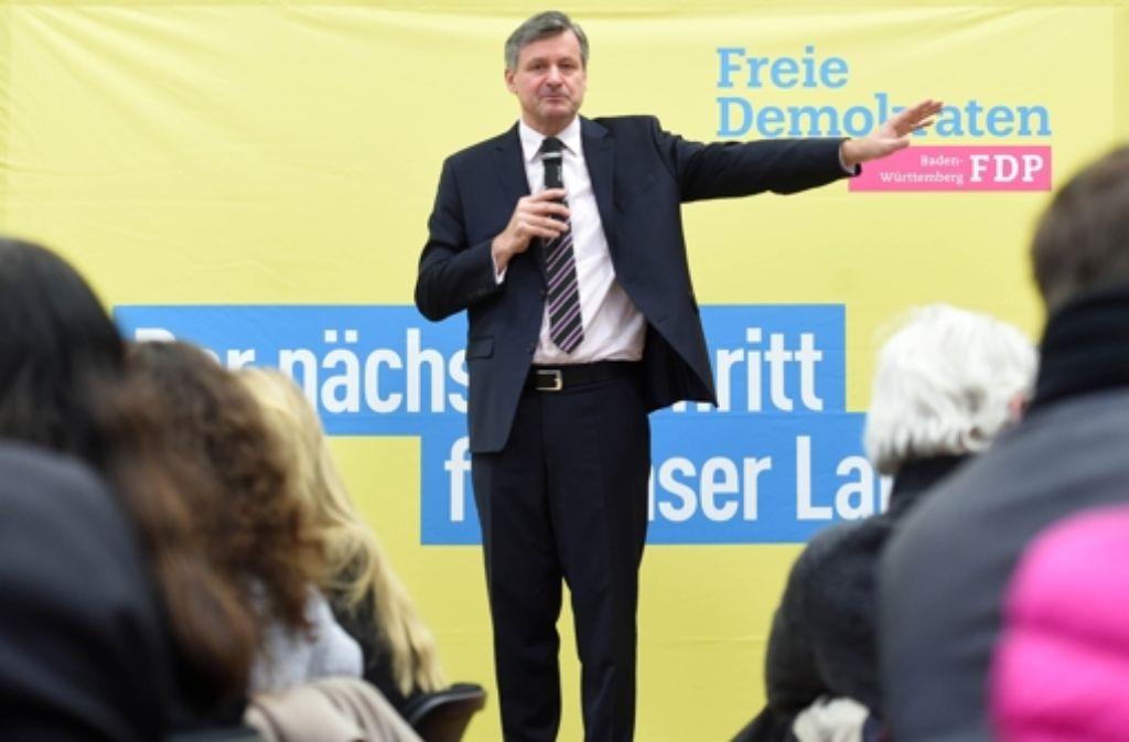 FDP-Landeschef Rülke kritisiert Horst Seehofer. Foto: dpa