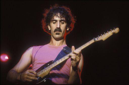 Aus den Archiven des Workaholics Frank Zappa