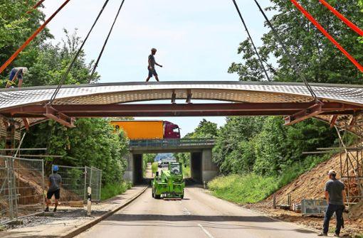 Perfekte Verbindung: eine Brücke mehr, eine Baustelle weniger