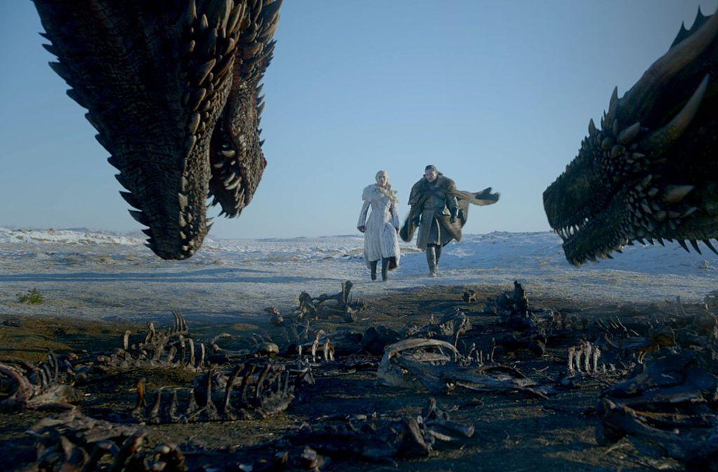 """Die achte und letzte Staffel der preisgekrönte Fantasy-Saga """"Game of Thrones"""" war im Mai ausgestrahlt worden. Foto: Sky"""