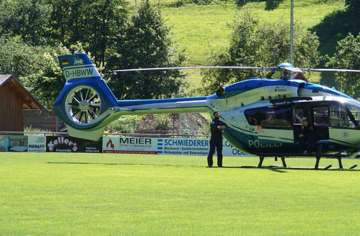 Der Luftraum über Oppenau wurde gesperrt. Foto: SDMG