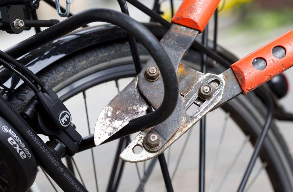 Die Fahrraddiebe hatten am Bahnhof auch Fahrradboxen aufgebrochen, um die Räder zu stehlen. Foto: dpa