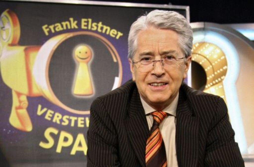 Der Moderator Frank Elstner ist der wohl prominenteste Wahlmann, den Baden-Württemberg ins Rennen schickt. Foto: dpa