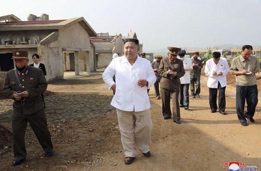 Kim Jong Un riegelt Grenzstadt ab