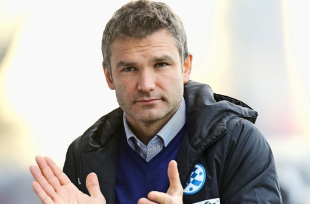 Trainer Tomislav Stipic und seine Kickers brauchen weiterhin Siege. Foto: Pressefoto Baumann