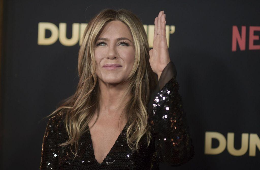 Jennifer Aniston, die Schauspielerin und Ex-Frau von Brad Pitt, gab im Februar ihre Trennung von Justin Theroux bekannt. Foto: AP