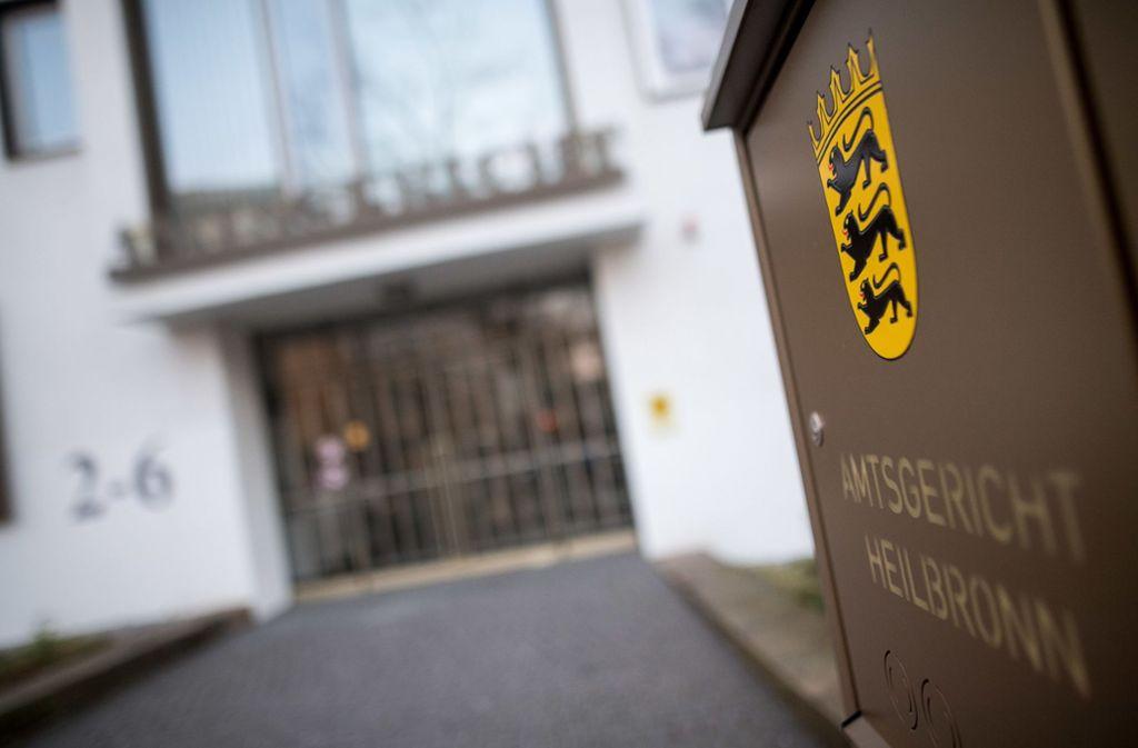 Ein 24-Jähriger ist am Amtsgericht Heilbronn zu einer Bewährungsstrafe verurteilt worden. Foto: dpa/Sebastian Gollnow