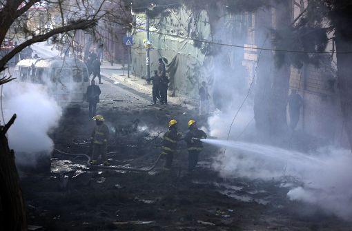 Toter und Verletzte bei schwerer Explosion