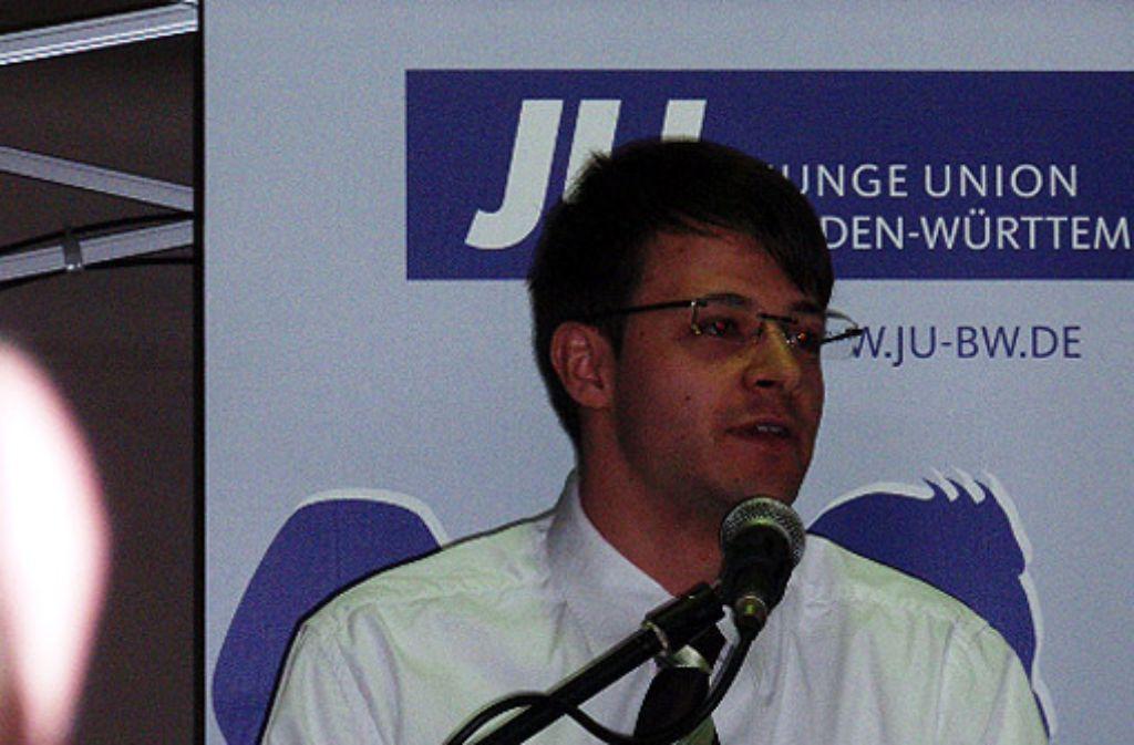 Der Vorsitzende der Jungen Union Göppingen Kai Steffen Meier Foto: privat
