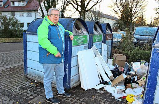 Dieser Mann sagt dem Müll den Kampf an