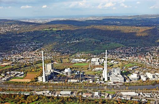 EnBW legt  Block  des Heizkraftwerks Altbach still