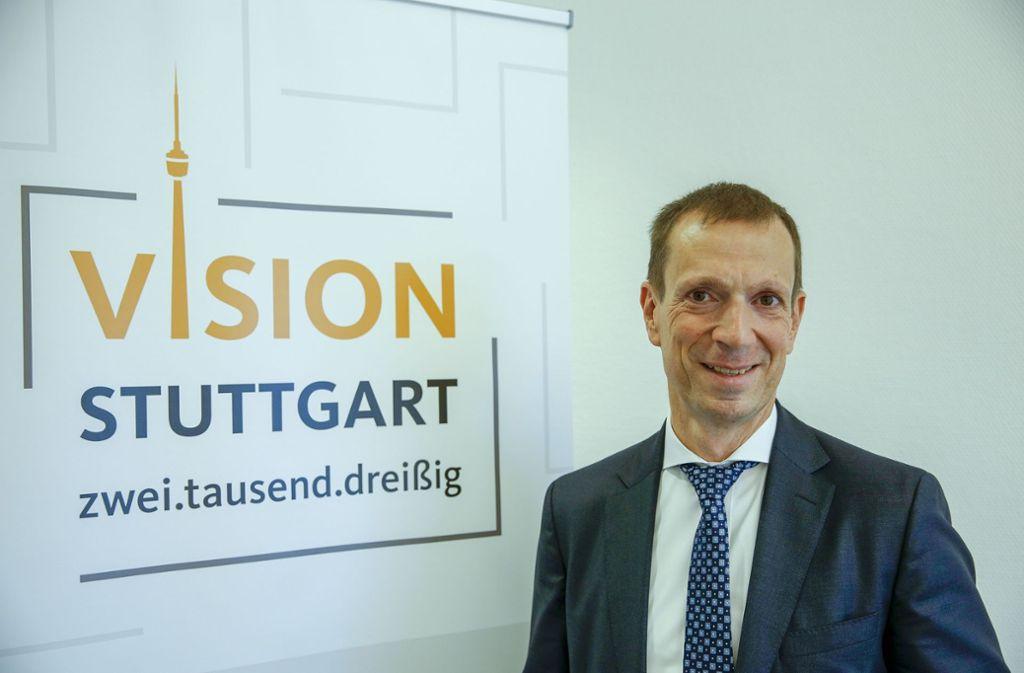 Vision 2030: Alexander Kotz will daran weiter als CDU-Fraktionschef arbeiten. Foto: Lg/Leif Piechowski