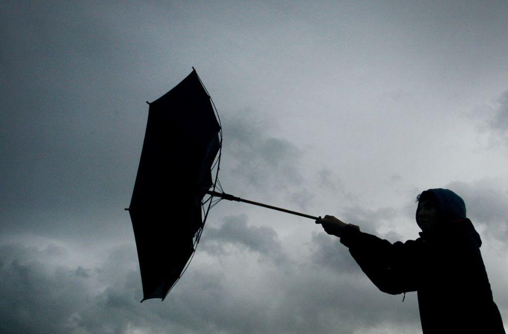 In Teilen Baden-Württembergs muss am Montag mit stürmischen Böen gerechnet werden. (Symbolfoto) Foto: dpa/Karl-Josef Hildenbrand