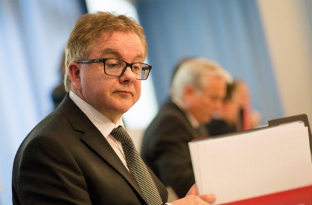 CDU-Fraktionschef Guido Wolf Foto: dpa