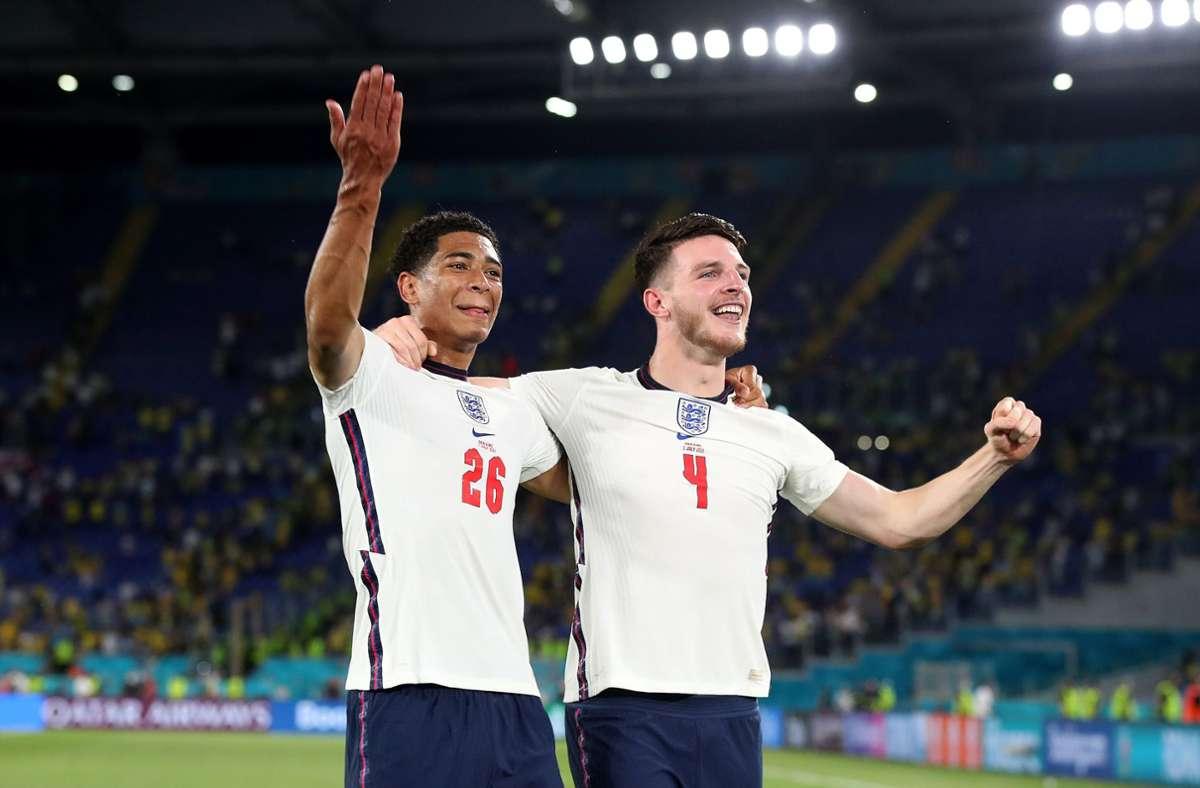 Erreichen die Engländer das Finale der EM 2021? Foto: dpa/Nick Potts