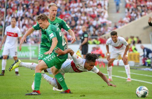 Wie der VfB Stuttgart gegen Widrigkeiten kämpft